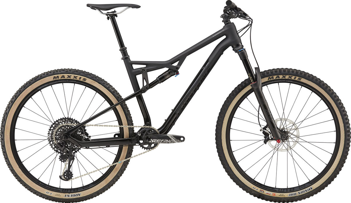 Cannondale Habit Carbon 2 SE FS Mountain Bike 2018 Black