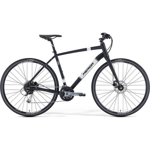40cfc96fc11 Merida Crossway Urban 100 Hybrid Bike 2016 Black £359.99